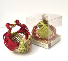 Load image into Gallery viewer, Holiday Petit Grapevine Handle Basket