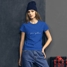 Load image into Gallery viewer, peace > problems classic tee