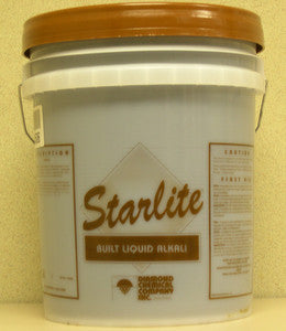 "LAUNDRY/ ""STARLITE"" Built Liquid Alkali"