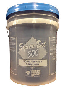 "LAUNDRY INJECTION/ ""Syner-Det 500"" Detergent"