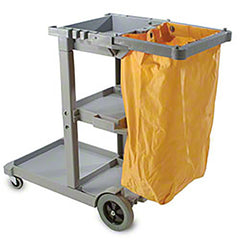 CART/ Janico Janitor's Cart with Bag
