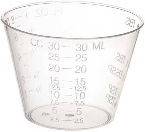 CONTAINER/ Portion, Graduated Medicine Cup, 1 oz, 5000/cs