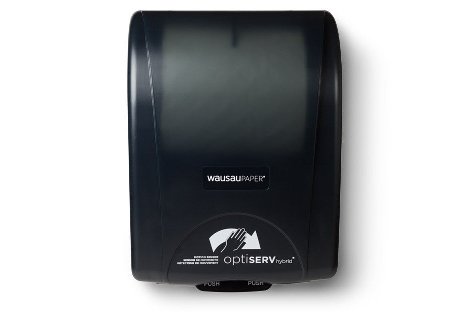 towel dispenser roll system baywest optiserv hybrid paper towel dispenser - Paper Towel Dispenser