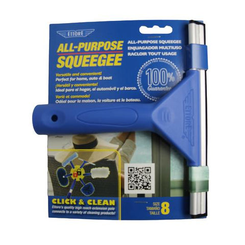 SQUEEGEE/ Window/ All Purpose Squeegee with Handle, Ettore