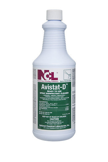 "DISINFECT/ ""AVISTAT-D"" Ready-to-use Spray Disinfectant Cleaner"
