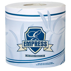 TOILET TISSUE/ Standard/ 96 Roll/ Empress Deluxe/ 2-Ply/ Item # BT4232500
