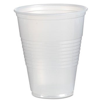 CUP/ Plastic, Translucent, 09 oz, 2500/case