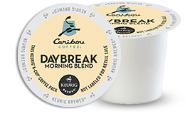 K-CUP/ Coffee/ Caribou Daybreak