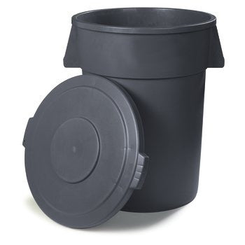"HEAVY DUTY/ ""Bronco"" Heavy-Duty Container, 44 gallon"