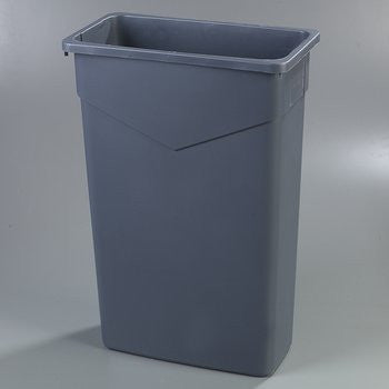 "INDOOR/ ""Trimline"" Waste Container, 23 gallon"