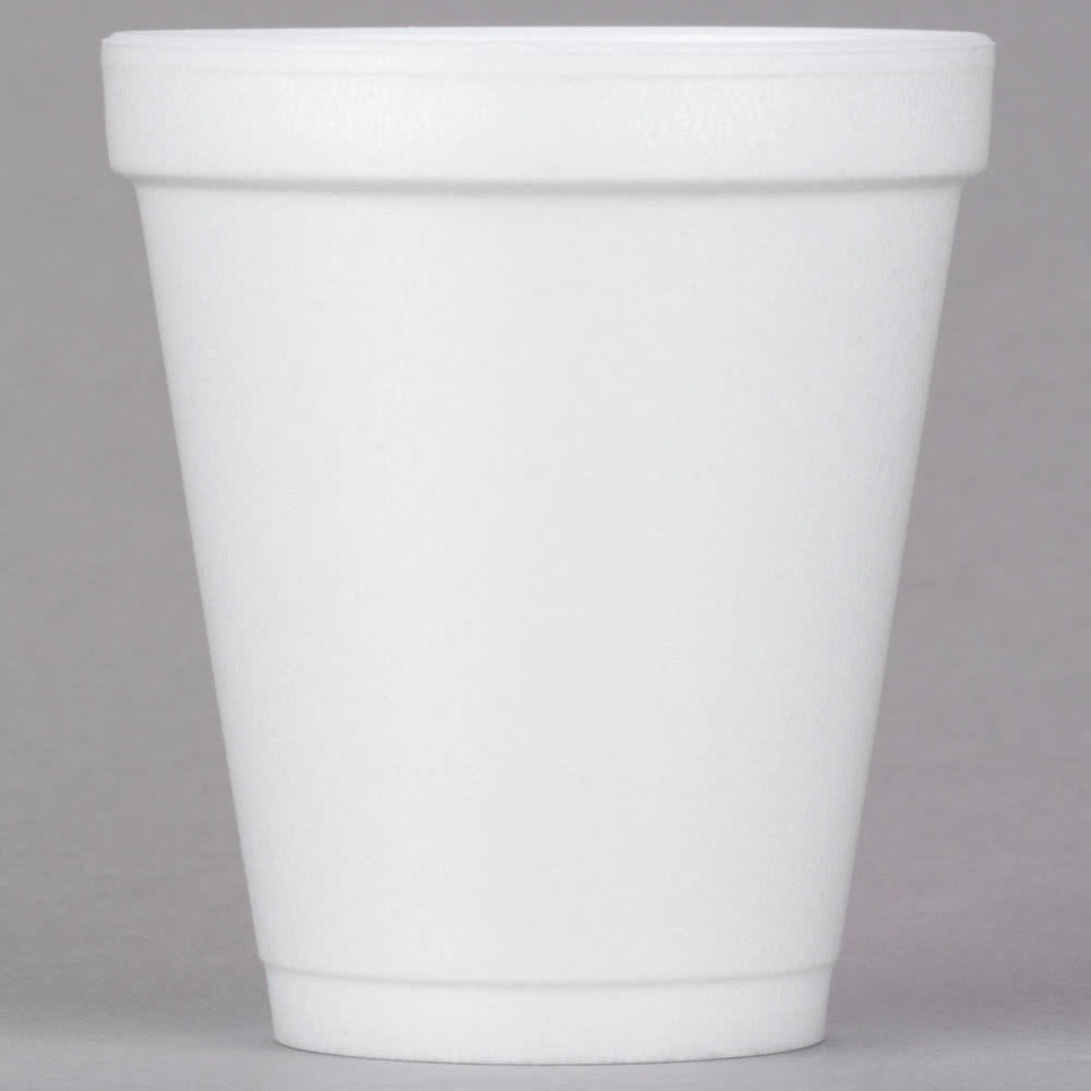 CUP/ Foam 08 oz, 1000/cs