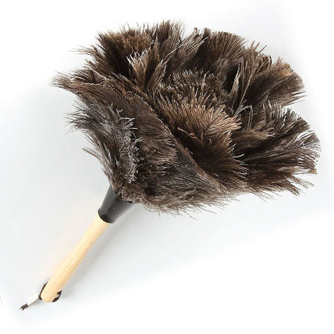 DUSTER/ Ostrich Feather, 14""