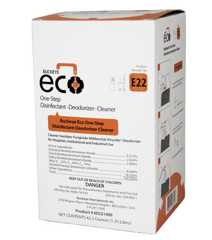 ECO/ ONE STEP DISINFECTANT E22