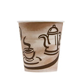 CUP/ Paper Coffee Hot Cup, Empress, 10 oz, 1000/cs
