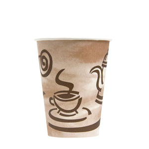 CUP/ Paper Coffee Hot Cup, Empress, 12 oz, 1000/cs
