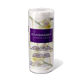 HOUSEHOLD ROLL TOWEL/ Embassy Premium Roll Towel, 2 ply, Item #01846