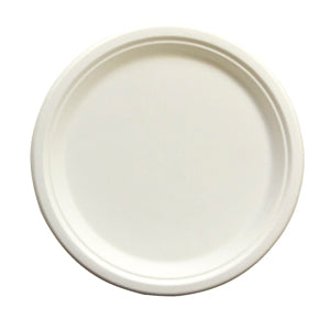 "PLATE/ Bagasse Empress Earth/ 10"" Heavyweight Plate, 500/case"