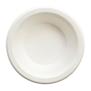 BOWL/ Bagasse Empress Earth/ 12 oz Heavyweight Bowl