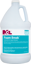 "CARPET CLEANER/ ""FOAM BREAK"" Defoamer, gallon"