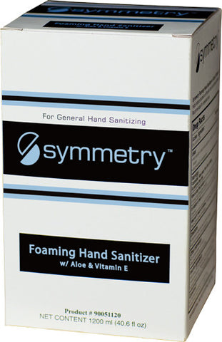 SANITIZER/ Alcohol/ Symmetry/ Foaming Hand Sanitizer, 1200ml