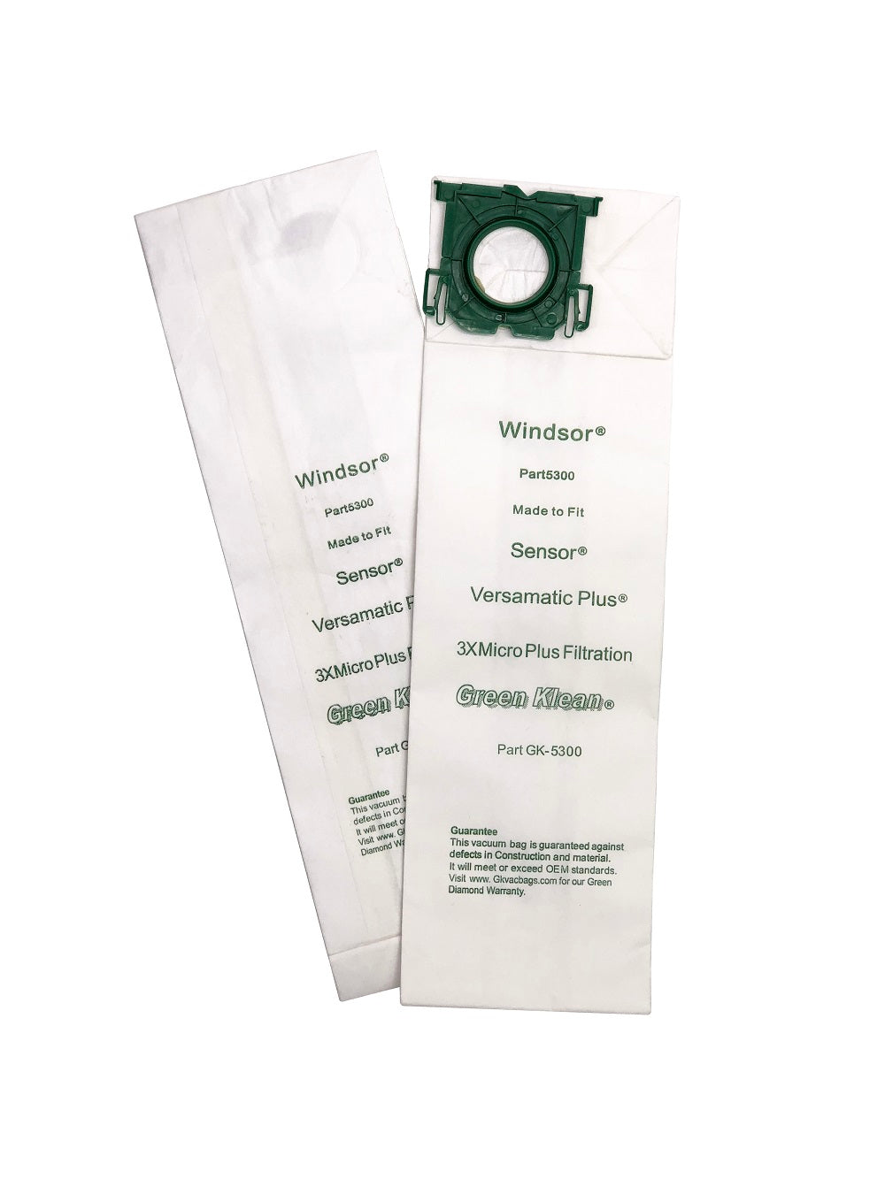 VACUUM/VAC BAGS FOR WINDSOR SENSOR OR VERSMATIC PLUS