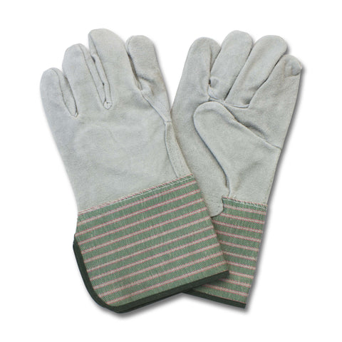 "GLOVES/ Work/ Leather Palm Gloves 4.5"" Cuff"