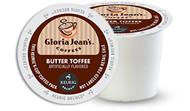 K-CUP/ Flavored/ Butter Toffee