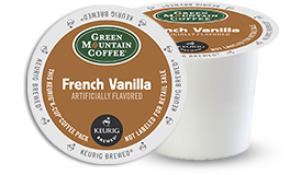 K-CUP/ Flavored/ French Vanilla