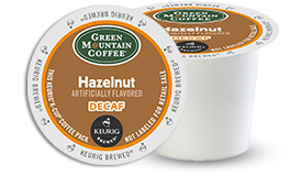 K-CUP/ Flavored/ Hazelnut Decaf