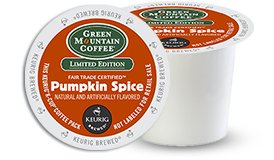 K-CUP/ Flavored/ Pumpkin Spice (Seasonal)