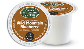 K-CUP/ Flavored/ Wild Mountain Blueberry