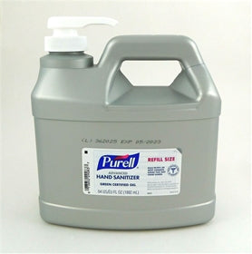 SANITIZER/ Alcohol/ Purell Gel Pump, 64 oz