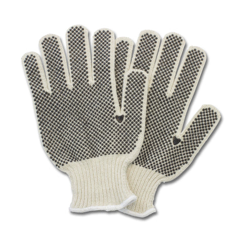 GLOVES/ Work/ Cotton PVC Dotted Work Gloves