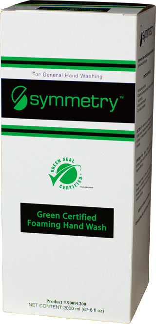 SOAP/ Foaming/ Symmetry/ Green Seal Certified Foaming Hand Wash 2000 ml