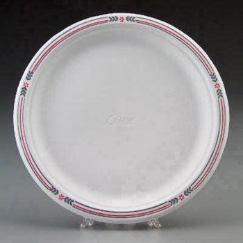 "PLATE/ Chinet 10 1/2"" Decorative"