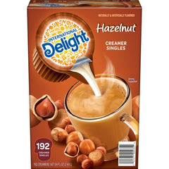 COFFEE CONDIMENT/ Creamer/ Liquid/ Hazelnut 192 ct