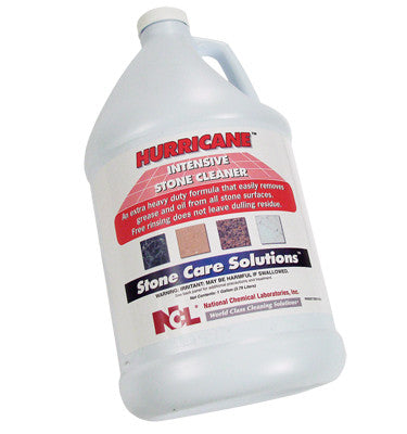 "CLEANER/ ""HURRICANE"" Extra Strength Stone Floor Cleaner"
