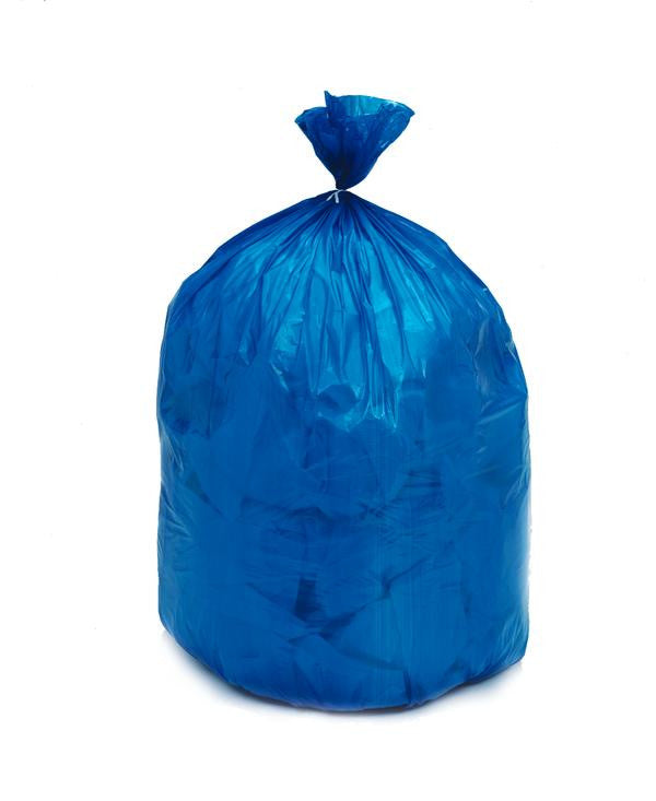 "TRASHBAG/ Isolation/ 30.5""x 43""/ Linen, Blue, Item# G4300XL"