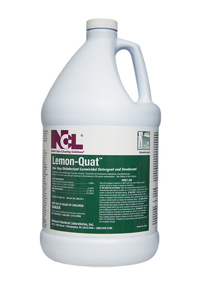 Disinfect Lemon Quat Disinfectant Cleaner Croaker Inc
