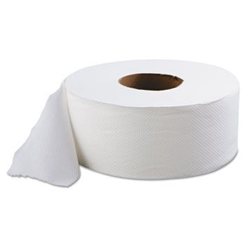 "TOILET TISSUE/ Jumbo/ 9"" Two-Ply, 12 Rolls"