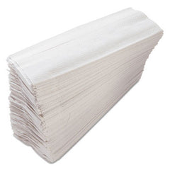 HAND TOWEL/ Folded/ C-Fold, White