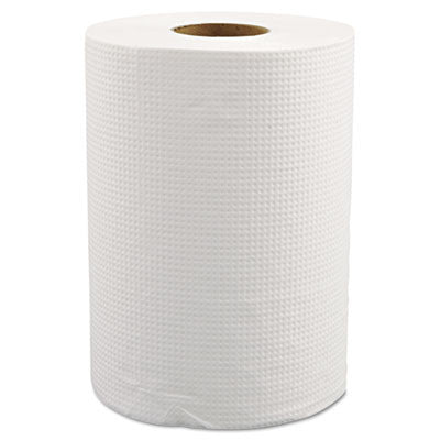"HAND TOWEL/ Roll Universal/ White, 8"" x 350'"