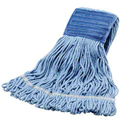 WET/ Blended Cotton-Synthetic Looped Mop, Assorted Sizes