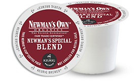 K-CUP/ Coffee/ Newman's Own Special Blend