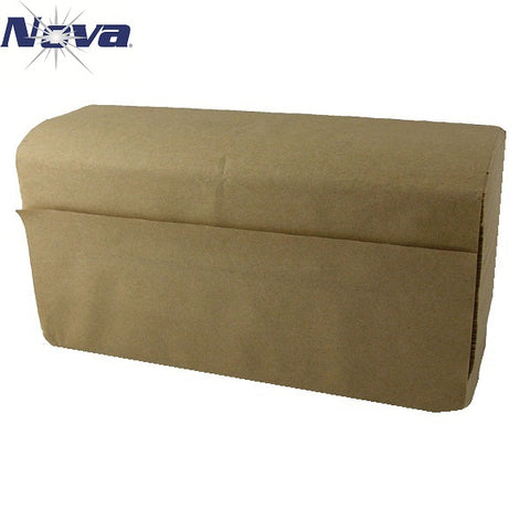 HAND TOWEL/ Folded/ Multifold, Natural, #NOVA 250MK, 10 cases or more