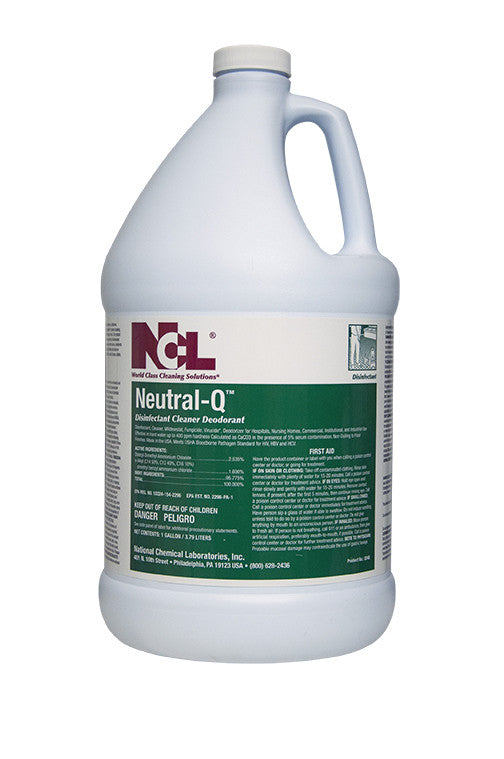 "DISINFECT/ ""NEUTRAL-Q"" Disinfectant Cleaner"