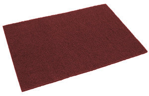 PADS/ Maroon Finish Removal - Rectangular