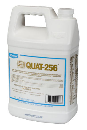 "DISINFECT/BUCKEYE ""QUAT 256"" High Concentrate Disinfectant Cleaner"