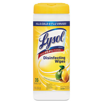 DISINFECT/ Lysol Disinfecting Wipes, 35 Count