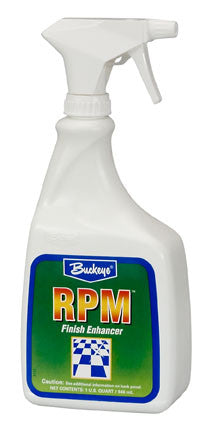 "FINISH/BUCKEYE ""R.P.M."" Mop-on Floor Restorer"